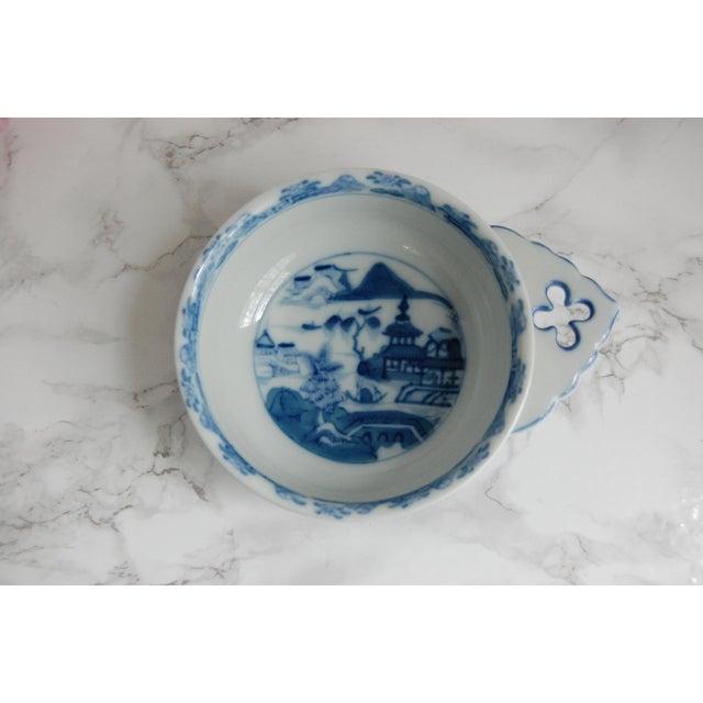 Mottahedeh Blue Canton Porringer Bowls - Set of 4 - Image 3 of 6