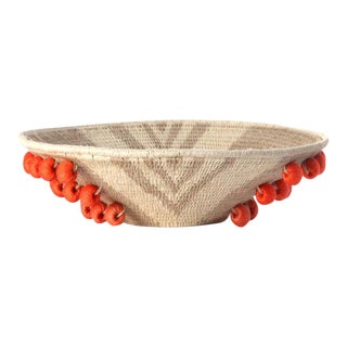 Envelope Large Basket Flax/cream/tangerine For Sale