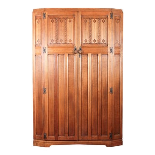 Art Deco Jacobean Wardrobe