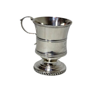 1850 American Coin Silver Youth Cup For Sale