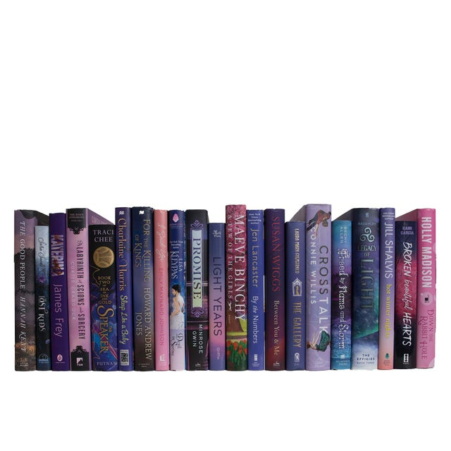 Transform your space with our Modern Frosted Berry Dust Jackets By The Foot. These are authentic Modern hardback books in...