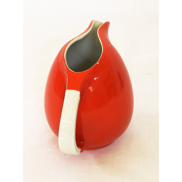 Vintage Hall's Superior Quality Red Pitcher - Image 3 of 4