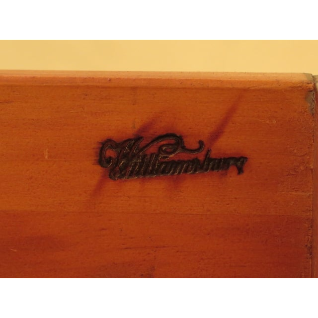Kittinger Mahogany Colonial Williamsburg Sideboard For Sale - Image 10 of 13