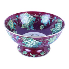 Image of Burgundy Serving Bowls