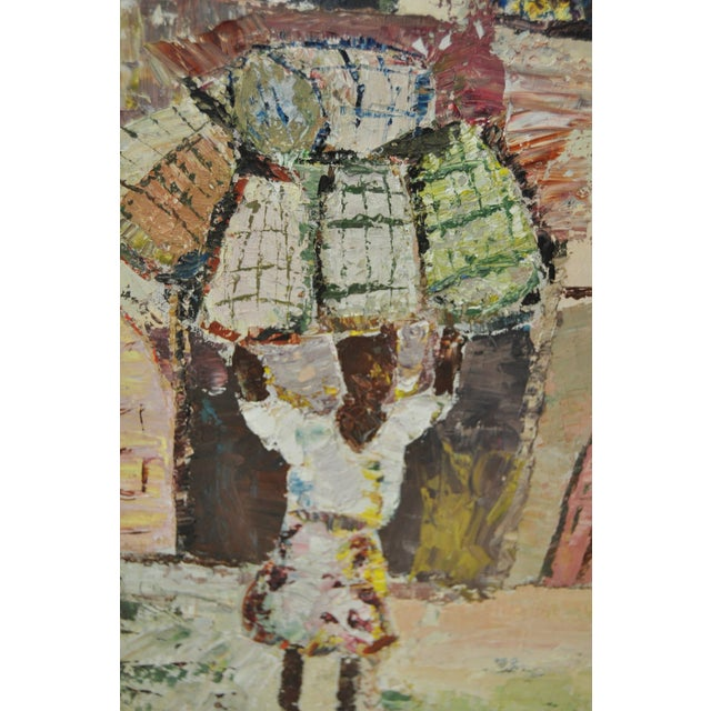 Vintage Oil Painting by Alice Rosman - Image 5 of 6