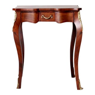 Louis XV Style End Table, Antique Vintage Furniture Reproduction, Victorian French Furniture For Sale