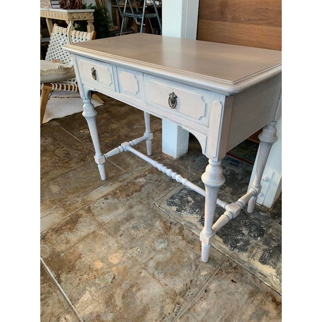 1920s 1920s Victorian Petite Desk or Vanity For Sale - Image 5 of 9