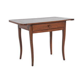 C.1800 Louis XV Provincial Fruitwood Table/Desk For Sale