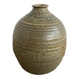 Mid-Century Ceramic Vessel For Sale