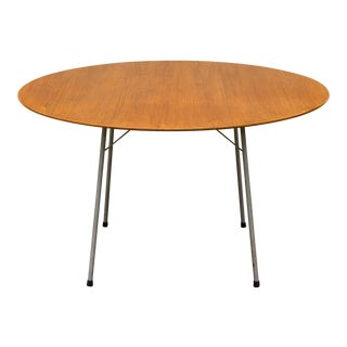 Arne Jacobsen for Fritz Hansen Ant Teak Dining Table Model 3600