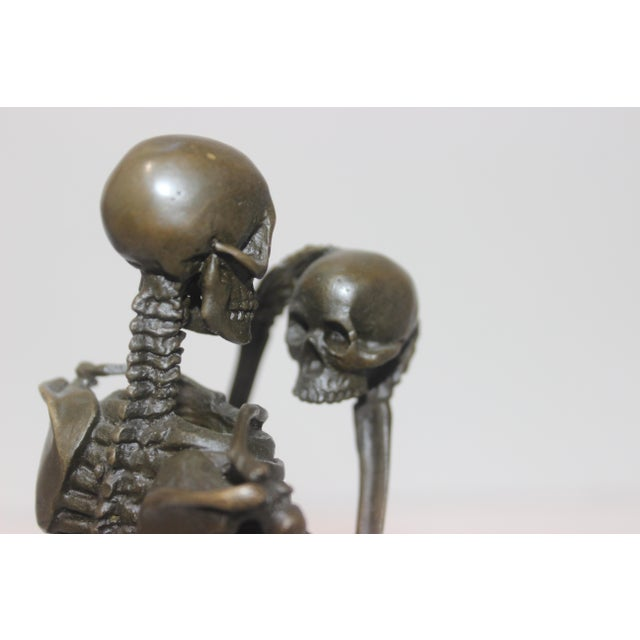 Vintage Carl Kauba Style Bronze Figure For Sale In West Palm - Image 6 of 13