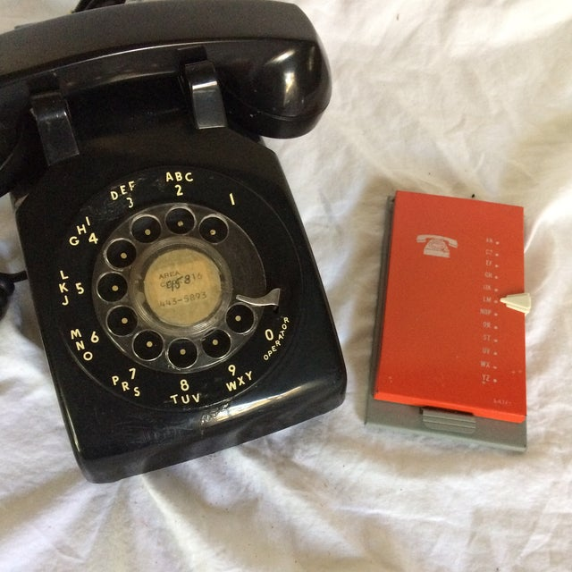 Vintage Black Western Electric Telephone - Image 10 of 11