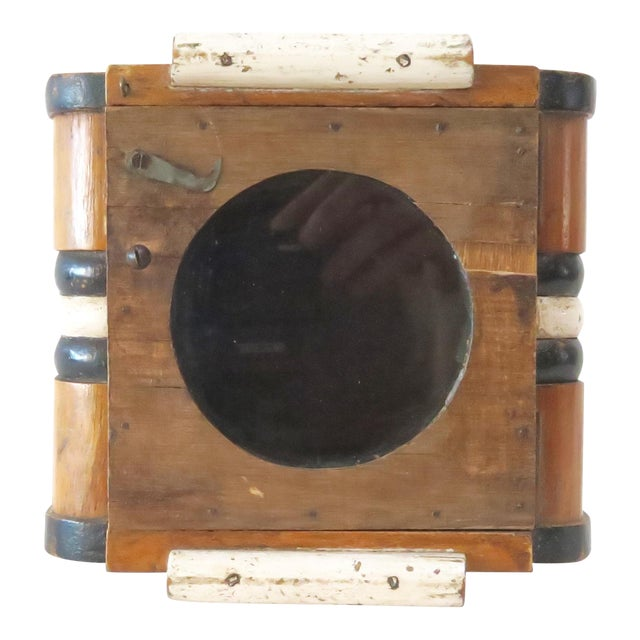 Vintage Wood Wall Mount Hanging Display Case - Image 1 of 7