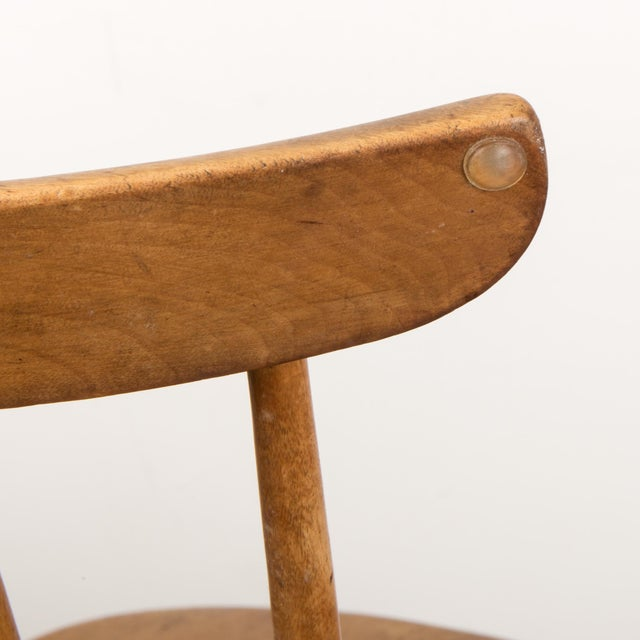 Small Danish Shaker Style Windsor Chair For Sale - Image 9 of 12