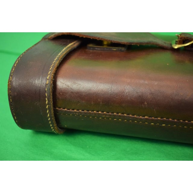 Abercrombie & Fitch Leather Gun Case For Sale In New York - Image 6 of 9