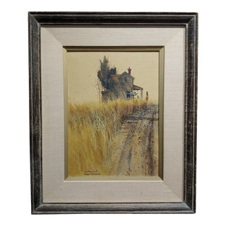 Frank Moss Hamilton-The Rural Route - Painting For Sale