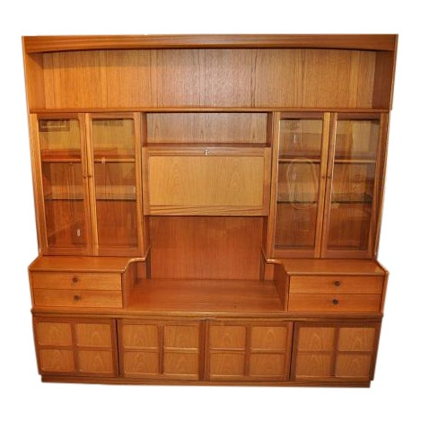 Parker Knoll Vintage 1970s Teak Wall Unit - Image 1 of 6