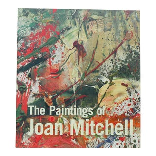 The Paintings of Joan Mitchell Book by Joan Mitchell and Jane Livingston For Sale