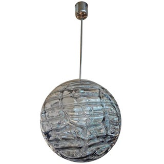 1970s Vintage Italian Murano Glass Sphere Chandelier For Sale