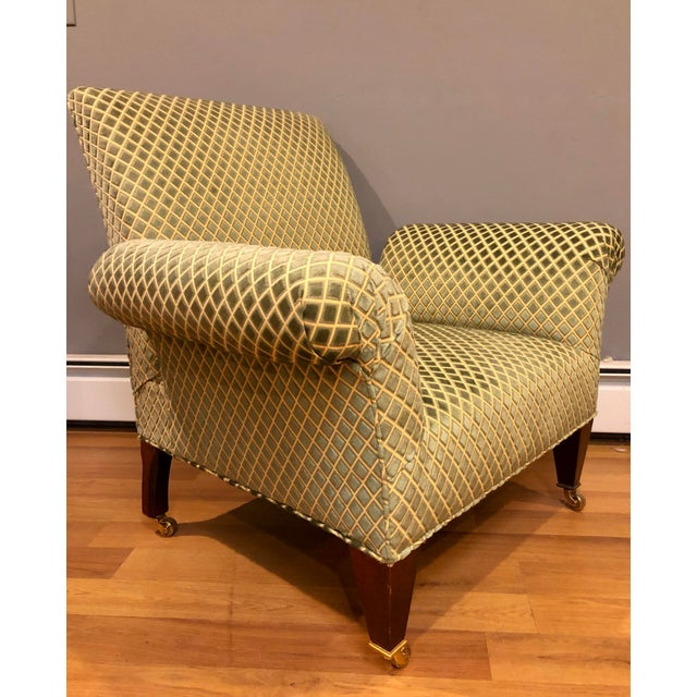 George Smith Butterfly Chairs- A Pair For Sale In New York - Image 6 of 8