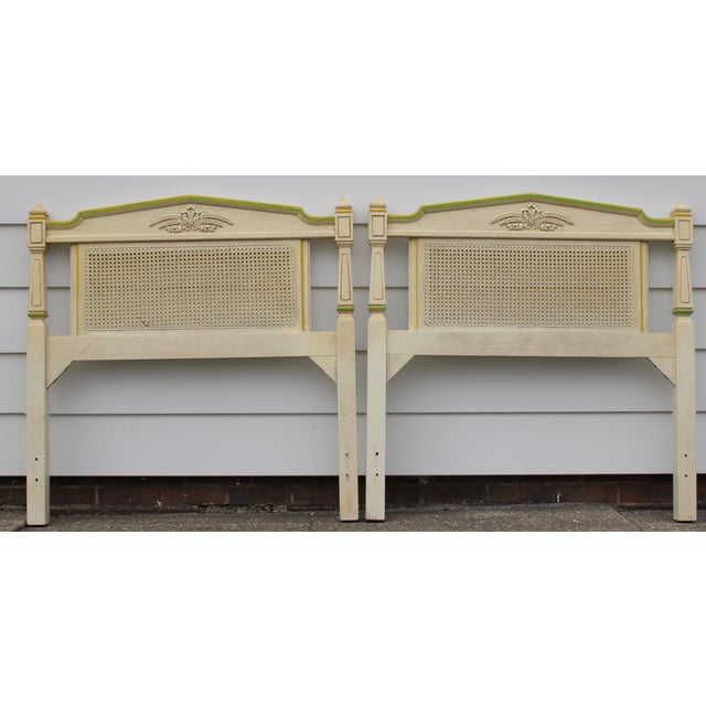 Stanley Furniture Twin Headboards - Pair - Image 2 of 11