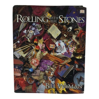 """""""Rolling With the Stones"""" by Bill Wyman, Coffee Table Display Book For Sale"""