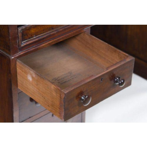 Late 19th Century English Mahogany Roll Top Desk For Sale - Image 5 of 7