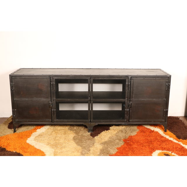 Industrial Iron Cabinet - Image 2 of 10