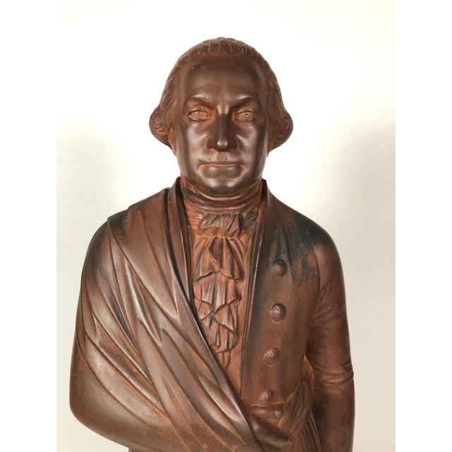 Metal Large 19th Century George Washington Cast Iron Stove Figure For Sale - Image 7 of 13
