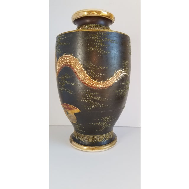 Early 20th Century Satsuma Century Japanese Vase For Sale In New York - Image 6 of 13