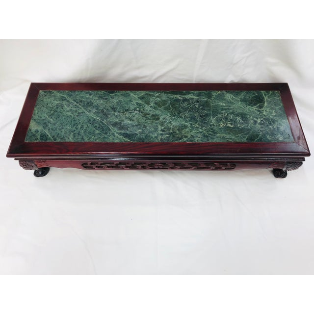 1980s Chinoiserie Style Plant Stand For Sale - Image 9 of 10