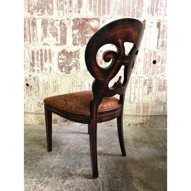 """Contemporary Set of Six Arhaus """"Jordan"""" Dining Chairs For Sale - Image 3 of 13"""