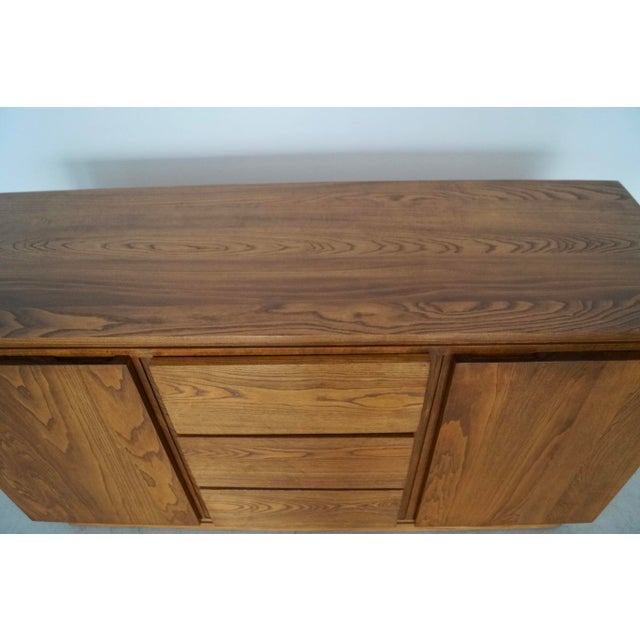 1940s Danish Modern Refinished Sideboard For Sale - Image 9 of 13