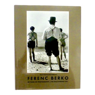 Ferenc Berko, 60 Years of Photography Book For Sale