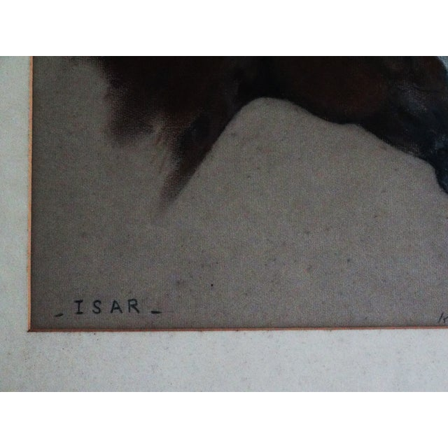 Equestrian Race Horse Portrait Drawing - Image 6 of 8