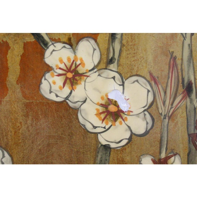 Vintage Decorative Chinese Chinoiserie Wall Panels, a Pair For Sale - Image 10 of 13