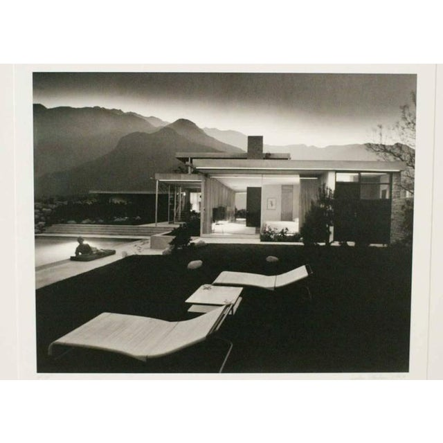 "Julius Shulman ""1947 Kaufman House Palms Springs"" Print, Signed - Image 3 of 3"