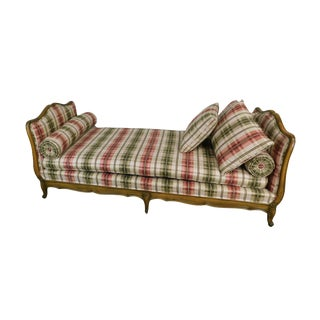 French Louis XV Style Custom Quality Day Bed For Sale