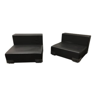 "Piero Lissoni for Kartell ""Plastics"" Lounge Chairs - a Pair For Sale"