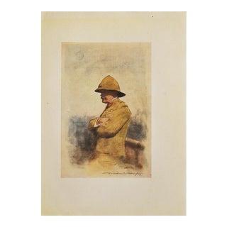 """Major General Wavell"" Print"