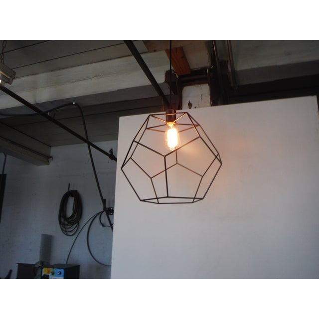 This platonic solid is experimentation in Eucledian geometry. A pure, simple and perfect volume collides with light...
