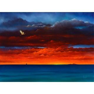 """Big Island Flash"" Contemporary Giclee Print by Dario Campanile For Sale"