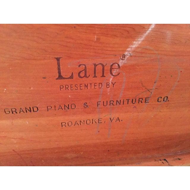 Wood Lane Cedar Handmade Wooden Box, 1980s For Sale - Image 7 of 9