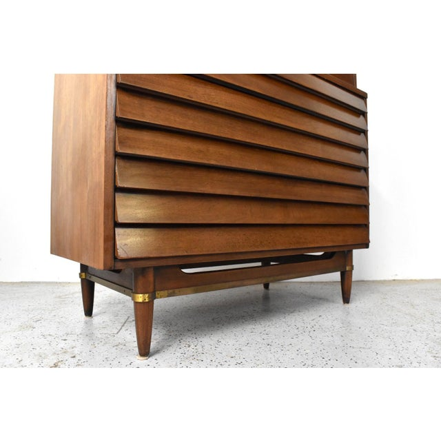 American of Martinsville Dania Highboy Chest - Image 8 of 10