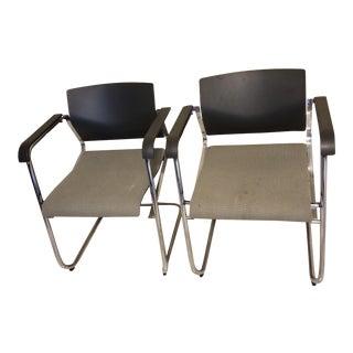 Mid Century Modern Wiege Wilkhahn Chairs- A Pair For Sale