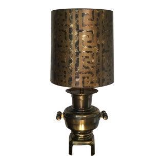 Stiffel Brass Samovar Lamp For Sale