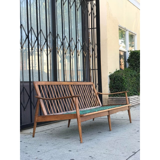 Mid-Century Modern Mid Century 3 Seater Sofa For Sale - Image 3 of 12