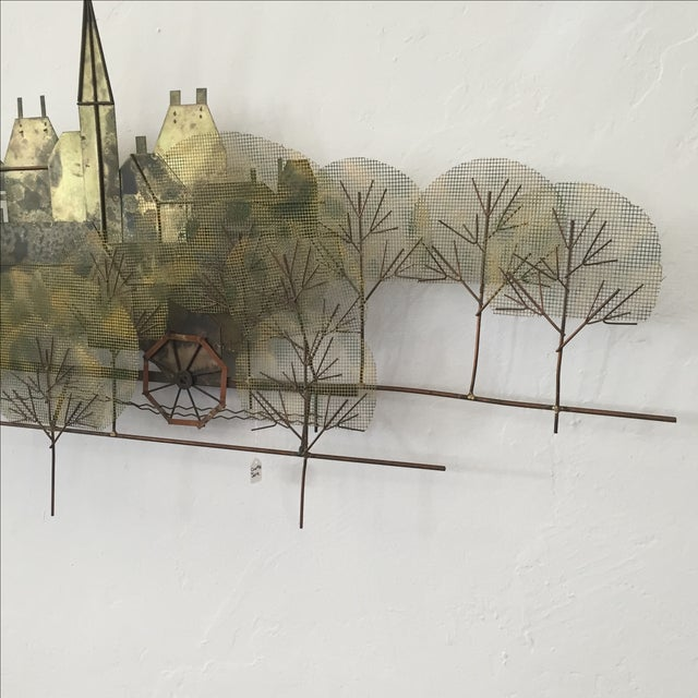 Curtis Jere Metal Wall Sculpture - Image 6 of 7