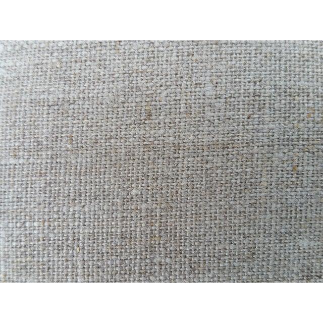 Pink Floral Cotton Velvet Pillows - A Pair - Image 5 of 5