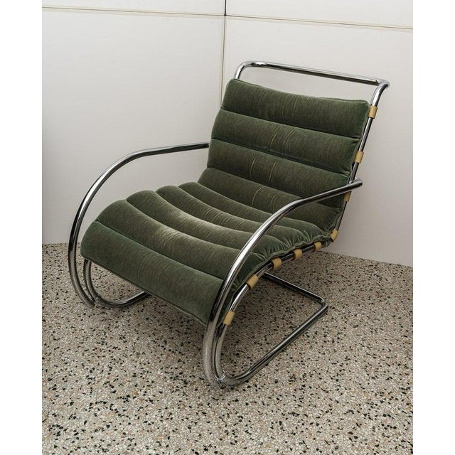 Knoll Mies Van Der Rohe 1927 Design Style Lounge Chair - 5 Are Available For Sale - Image 4 of 13